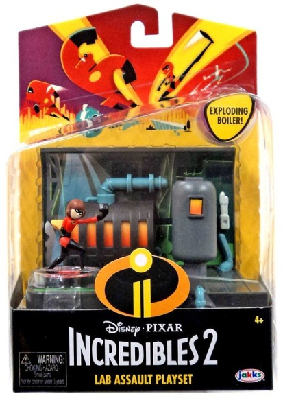 Jakks Incredibles 2 mängukomplekt tegelaskujuga Elastiknaine