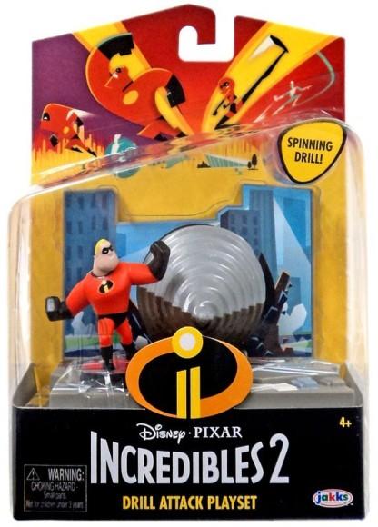Jakks Incredibles 2 mängukomplekt tegelaskujuga Härra Imeline