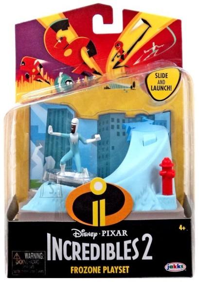 Jakks Incredibles 2 mängukomplekt tegelaskujuga Külmar