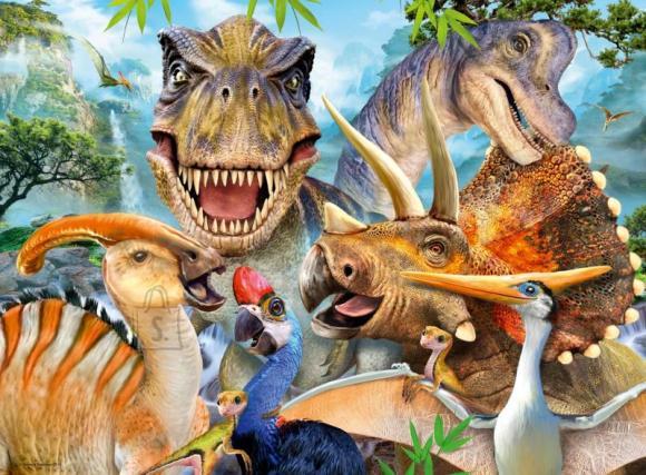 Ravensburger RAVENSBURGER pusle Dino Selfies 300p, 13246