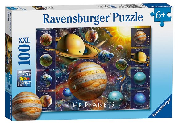 Ravensburger RAVENSBURGER pusle The Planets 100p, 10853