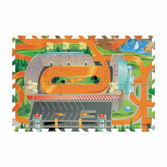 TCG Toys mängumatt sõidukiga Hot Wheels