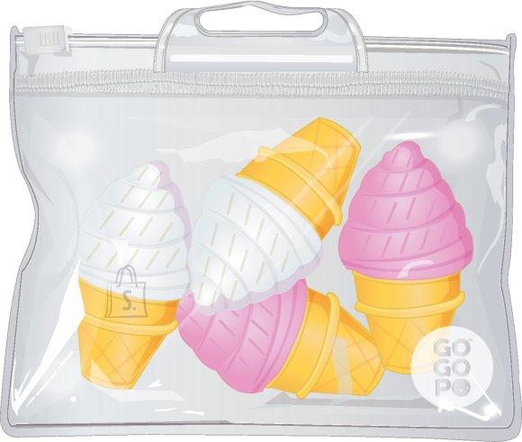 GoGoPo jäätisekujulised mini-kustukummid