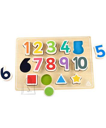 ELC kujundite ja numbrite pusle