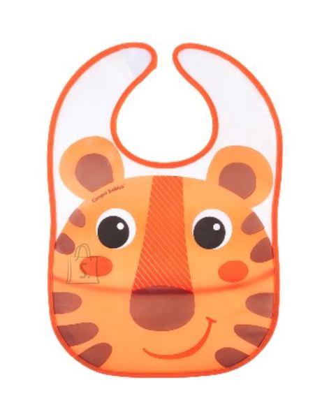 CANPOL BABIES veekindel pudipõll taskuga Hello Little, oranž, 9/232_ora
