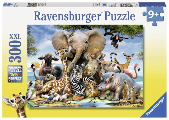 Ravensburger RAVENSBURGER pusle African friends 300p, 13075