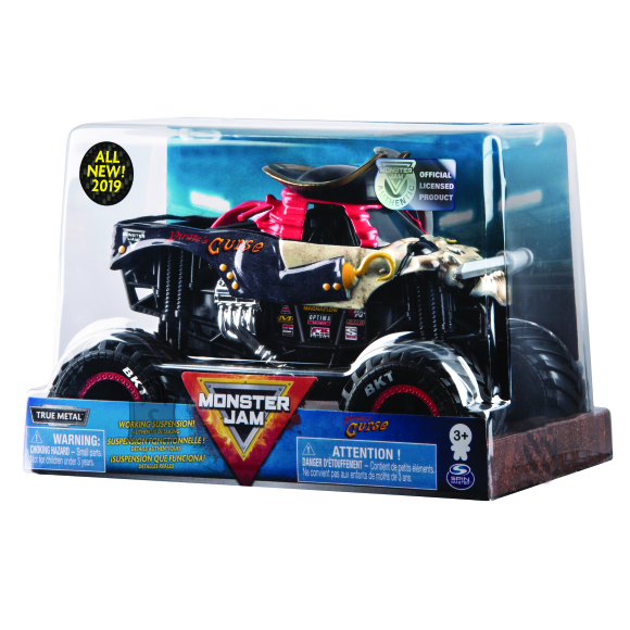 MONSTER JAM veoauto 1:24 Collector Die Cast, asort., 6044869
