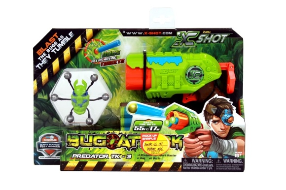 XSHOT mängupüstol Predator, 4815