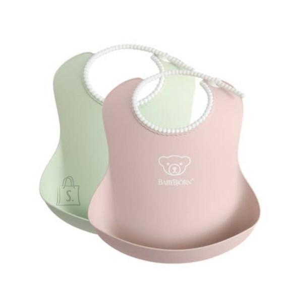 BABYBJÖRN Pudipõll 2tk. Powder Green / Powder Pink