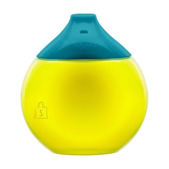 Boon BOON mitte tilkuv tass 300ml 9k+ Teal/Yellow B11059