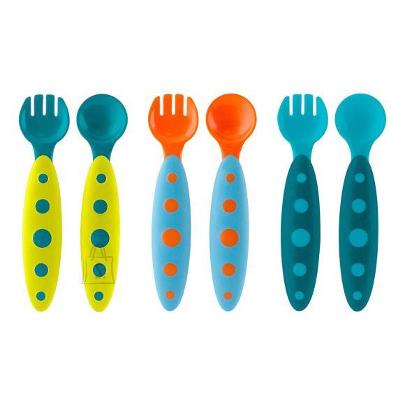 BOON lusikas ja kahvel 6 tk 9k+ B10129