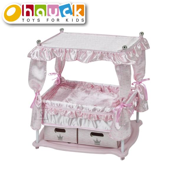 HAUCK nukuvoodi Princess, roosa, D90416