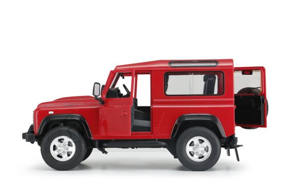 RASTAR automudel R/C 1:14 Land Rover Denfender haagisega, 78400-1