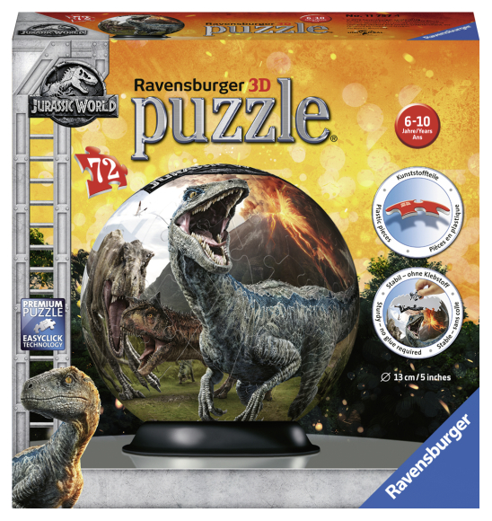 Ravensburger RAVENSBURGER pusle Jurassic World 2 72vnt, 11757