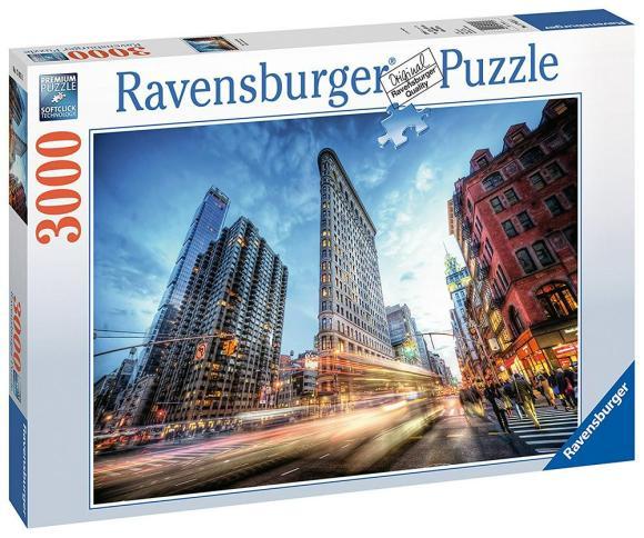 Ravensburger RAVENSBURGER pusle Flat Iron Building 3000p, 17075
