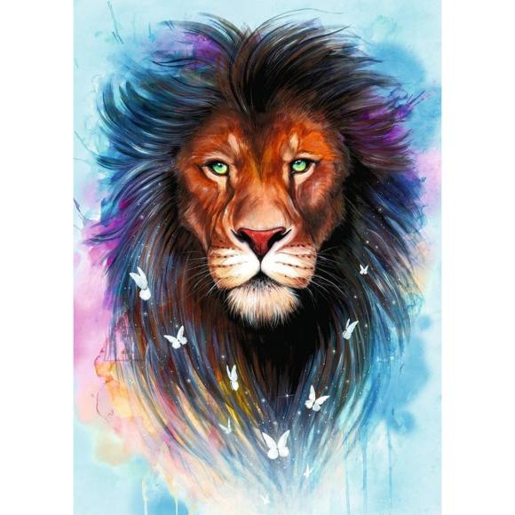 RAVENSBURGER pusle Majesteetlik lõvi 1000psc., 13981