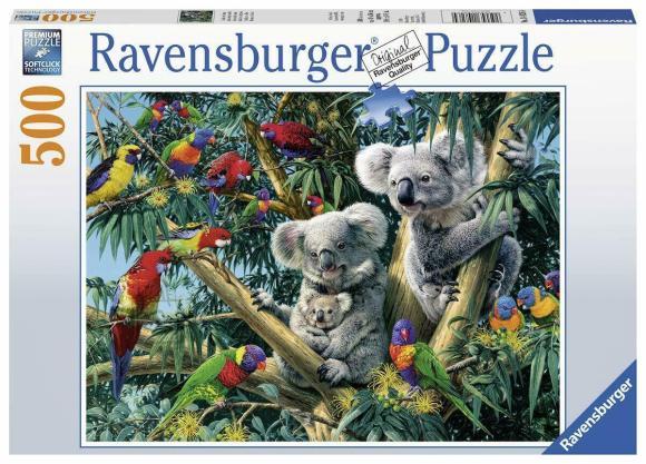 Ravensburger RAVENSBURGER pusle Koaalad puu otsas, 500psc., 14826