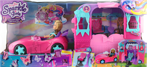 SPARKLE GIRLZ nukk mängukomplekt beauty caravan, 24759