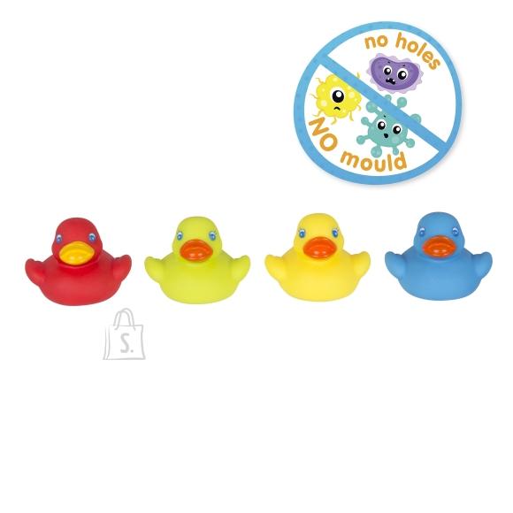 PLAYGRO täielikult suletud vannimänguasjad Bright Baby Duckies, 0187480