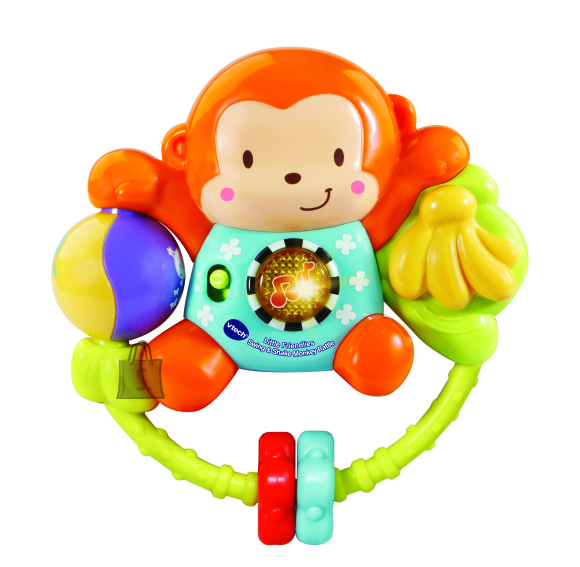 VTECH muusikaline mänguasi-närimisrõngas Ahv, 80-508303