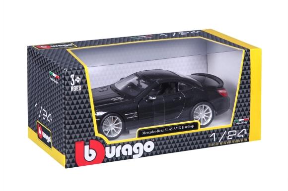 BBURAGO auto 1/24 Mercedes Benz SL 65 AMG Hardtop, 18-21066