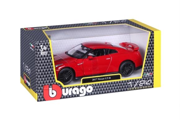 BBURAGO auto 1/24 Nissan GT-R, 18-21082