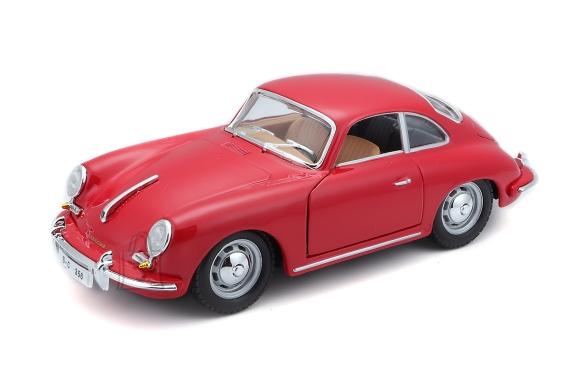 BBURAGO auto 1/24 Porsche 356B Coupe 1961, 18-22079