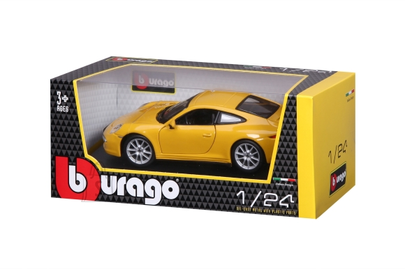 BBURAGO auto 1/24 Porsche 911 Carrers S, 18-21065