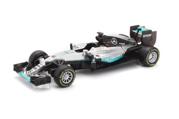 BBURAGO auto 1/43 Racing 2016 Mercedes AMG Petronas W07 Hybrid, 18-38026
