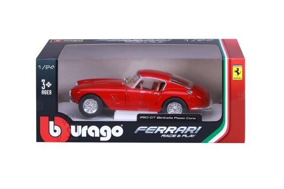 BBURAGO FERRARI auto 1/24 Ferrari RP 250 GT Berlinetta Passo Corto, 18-26025