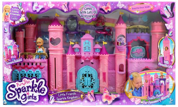 SPARKLE GIRLZ little world kingdom castle, 24506
