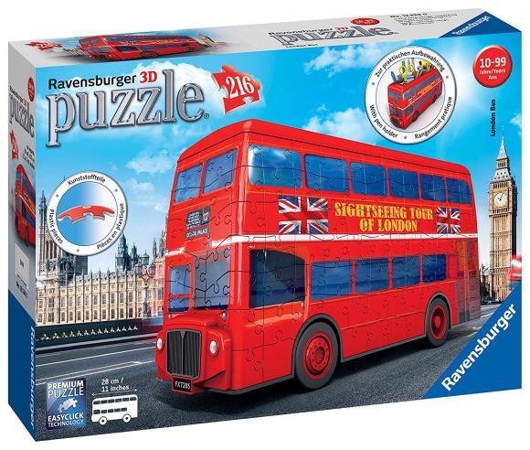 Ravensburger RAVENSBURGER pusle 3D London Bus, 216p., 12534
