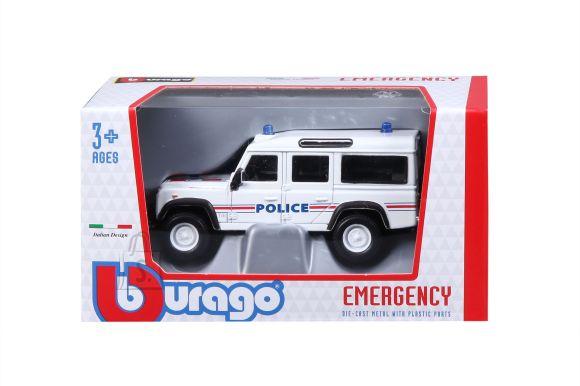 BBURAGO 1/50 auto Land Rover Defender 110, 18-32003