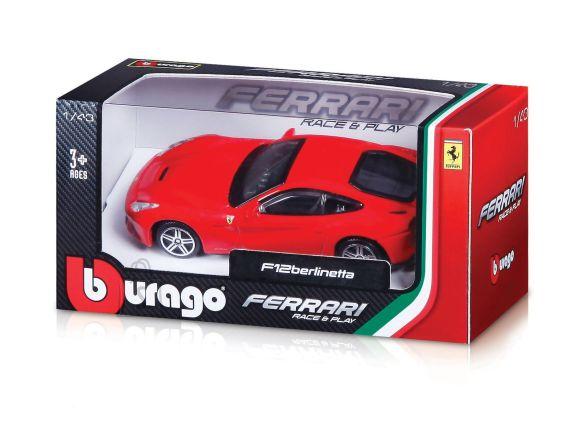 BBURAGO FERRARI auto 1:43 Ferrari RP Vehicles, asort., 18-36100