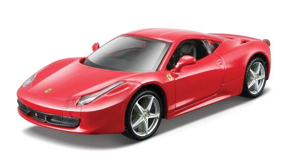 BBURAGO FERRARI auto 1/32 Ferrari RP Vehicels, asort., 18-46100