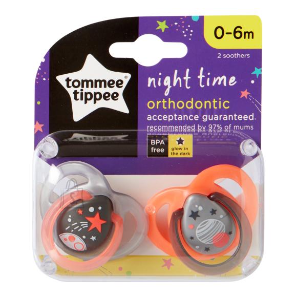 TOMMEE TIPPEE lutid Night 0-6kuud 2tk., 433473