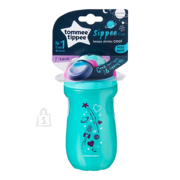 Tommee Tippee TOMMEE TIPPEE isoleeritud pudel tüdrukutele 12kuud+, 447158
