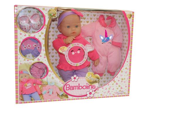 BAMBOLINA nukk meloodiate või beebihäälega, 36cm aksessuaaridega, BD1833