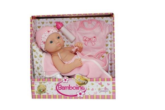 BAMBOLINA beebi nukk Amore, 34cm, aksessuaaridega, BD1831