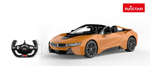 RASTAR raadioteel juhitav auto R/C 1:12 BMW i8 Roadster 2.4G, 95500