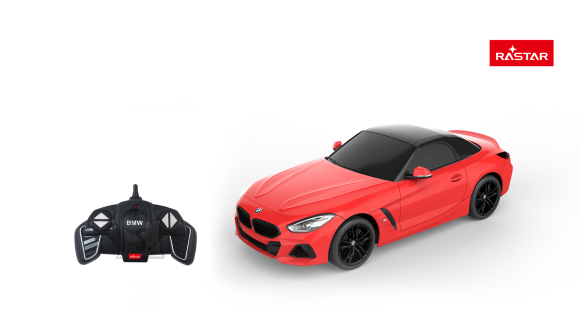 RASTAR raadioteel juhitav auto R/C 1:18 BMW Z4 New Version, 95900