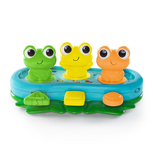 BRIGHT STARTS muusikaga mänguasi Bop and Giggle Frogs, 10791-6