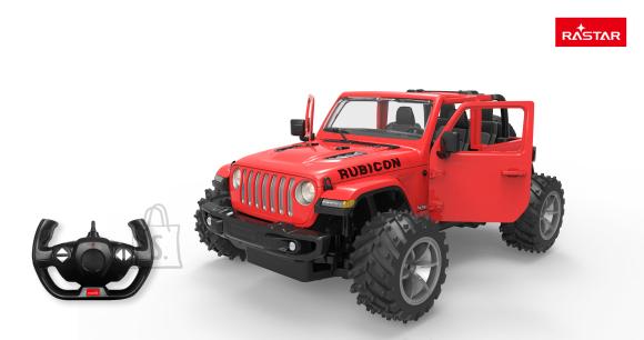 RASTAR raadioteel juhitav auto R/C 1:14 JEEP Wrangler JL 2.4G, 79410
