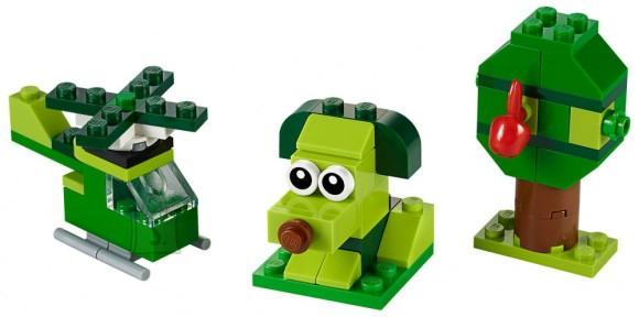 LEGO 11007 LEGO® Classic Creative Rohelised loovmängukl