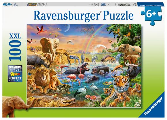 RAVENSBURGER pusle Savannah džungli veesilm, 100tk, 12910