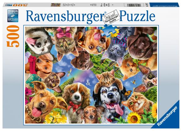 RAVENSBURGER pusle Looma selfie, 500tk, 15042