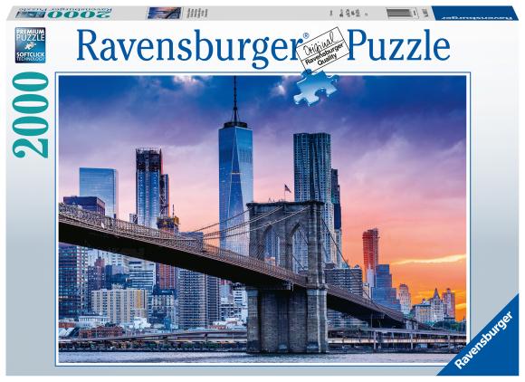 RAVENSBURGER pusle New Yorki siluett, 2000tk, 16011