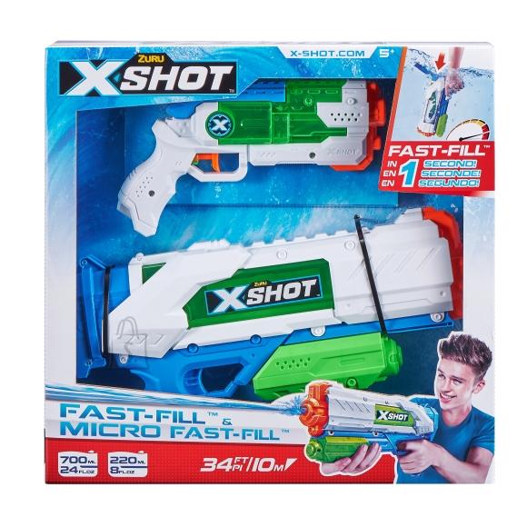 X-SHOT veepüstolite komplekt Fast-Fill ir Micro Fast-Fill, 56225
