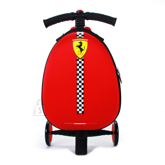 FERRARI tõukeratas Luggage Foldable, red, FXA45