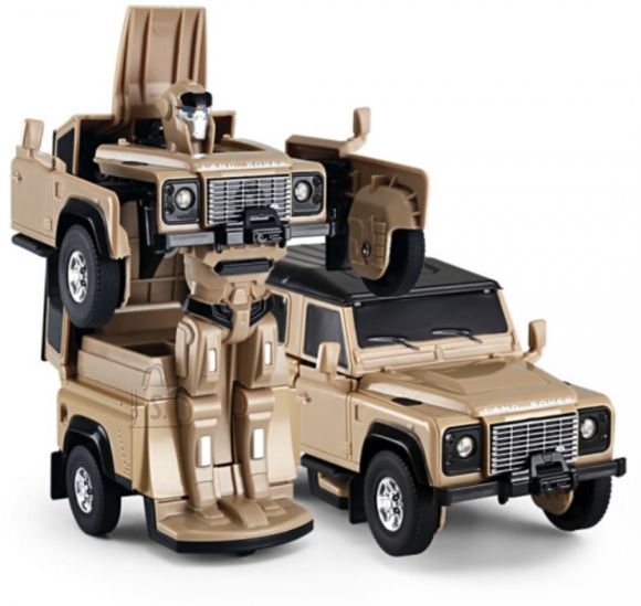 RASTAR Die cast 1/32 Land Rover Defender Transformable car